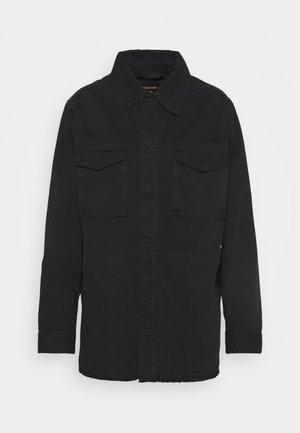 CRAFTED SHACKET - Summer jacket - black