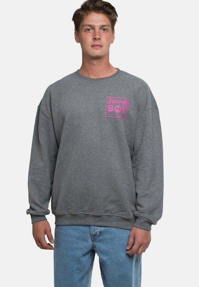 THE BIGGER - Sweatshirt - grey heather