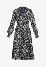 BRUNA LIGHT DRESS - Maxikjoler - black/classic cream