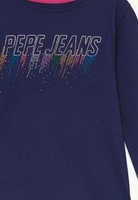 Pepe Jeans - MARIE - Top sdlouhým rukávem - scout blue - 3
