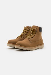 Friboo - Lace-up ankle boots - camel - 1