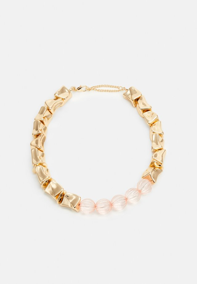 MIX BEAD COLLAR - Kaulakoru - pink