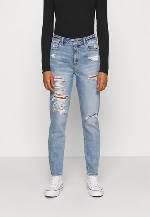 MOM - Jeans slim fit - blue path