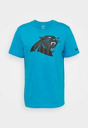 NFL CAROLINA PANTHERSNIKE LOGO ESSENTIAL - Pelipaita - tidal blue