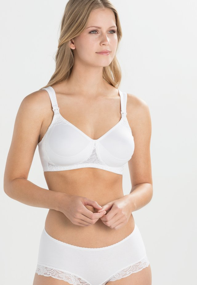 BASIC STILL-BH NURSING BRA - Triangle bra - weiß