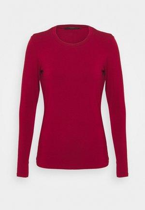 MULTIE - Long sleeved top - bordeaux