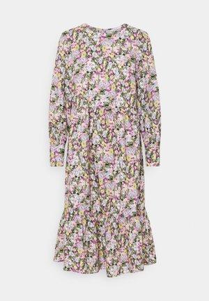ONLELLIE CALF DRESS - Denní šaty - black/pastel