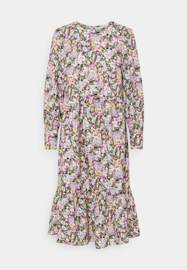 ONLELLIE CALF DRESS - Korte jurk - black/pastel