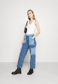 BDG Urban Outfitters - PATCH SKATE - Jeans relaxed fit - bleach - 1