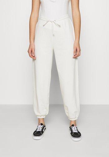 DRAWSTRING  - Pantalon de survêtement - offwhite