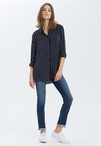 Cross Jeans - Button-down blouse - navy - 1