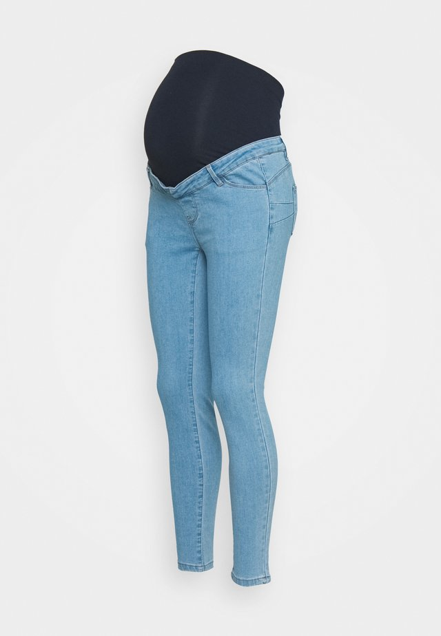 MATERNITY SCUPLT DETAIL SINNER  - Skinny džíny - blue