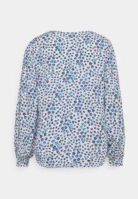 GAP Petite - ZEN NECK - Long sleeved top - daisy floral blue - 1
