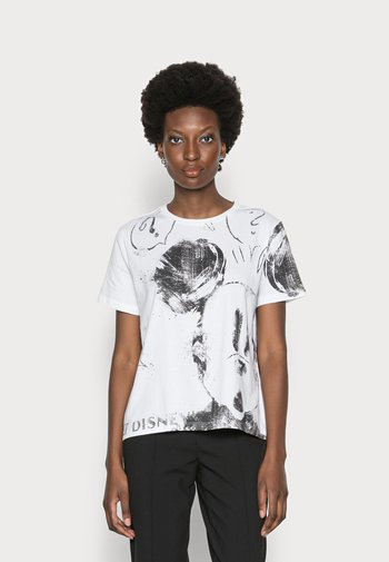 MICKEY - T-shirts med print - white