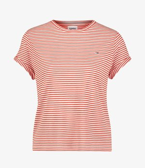 RELAXED FIT - Print T-shirt - rot