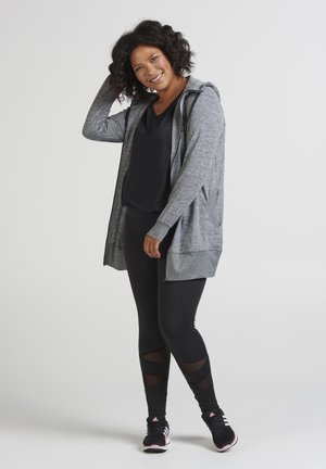 Zip-up hoodie - grey