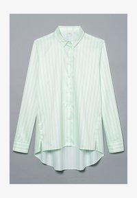 Eterna - Button-down blouse - pastellgrün/weiß - 3