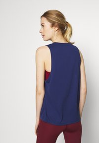 Tommy Sport - PRINTED TANK - Sports shirt - blue - 2