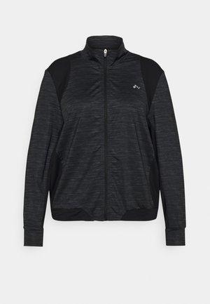 ONPASIME CURVY - Veste de survêtement - dark grey melange