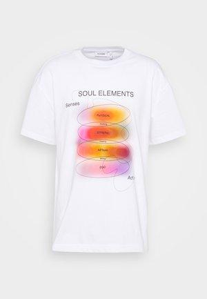 STEFY - Print T-shirt - off white
