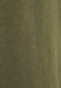 Anna Field - 3 PACK - T-shirts - black/white/khaki - 8