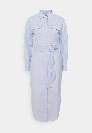 BROADCLOTH DRESS - Košilové šaty - blue/white multi