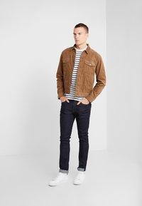 J.CREW - CORDUROY TRUCKER JACKET - Summer jacket - saddle brown - 1