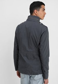 Superdry - CLASSIC ROOKIE MILITARY JACKET - Summer jacket - carbon grey - 2