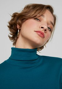 Benetton - TURTLE NECK - Long sleeved top - forest green - 3