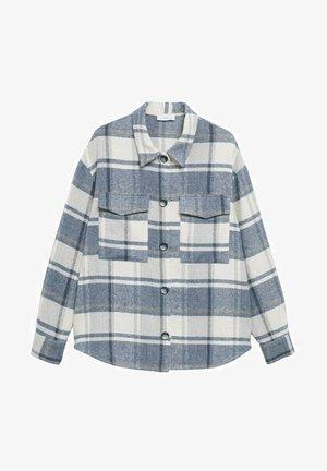 KARIERTES OVERSIZED - Shirt - blau