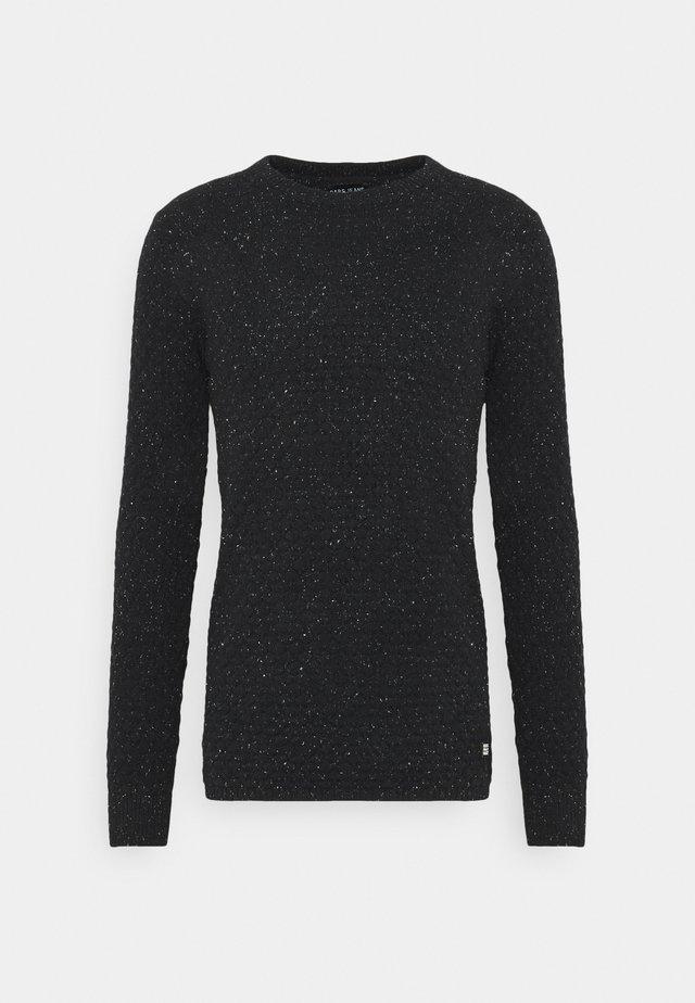 SANSALL - Sweter - black
