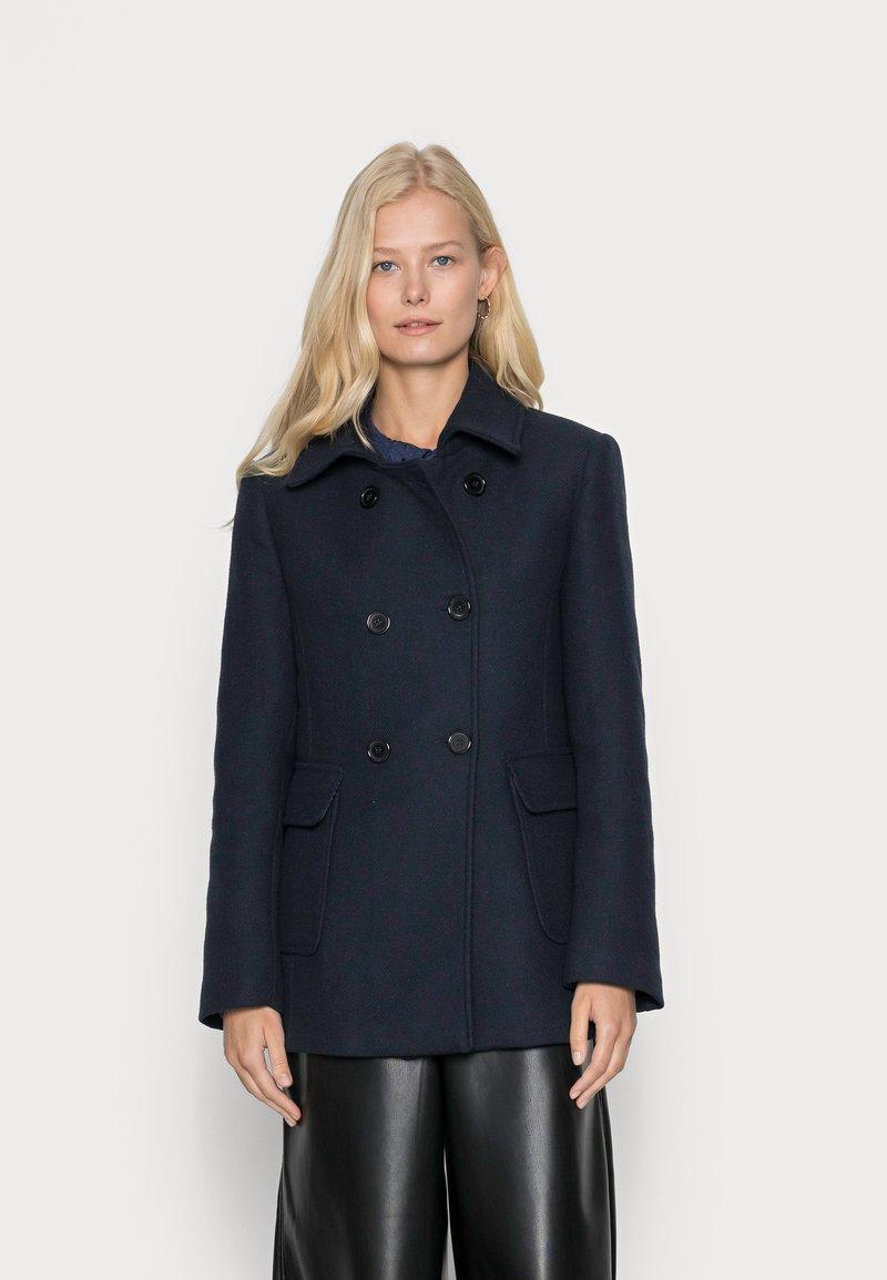 More & More - JACKET SHORT - Short coat - marine