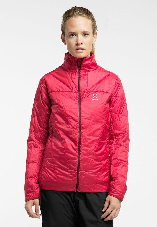 L.I.M BARRIER JACKET - Ski jacket - hibiscus red