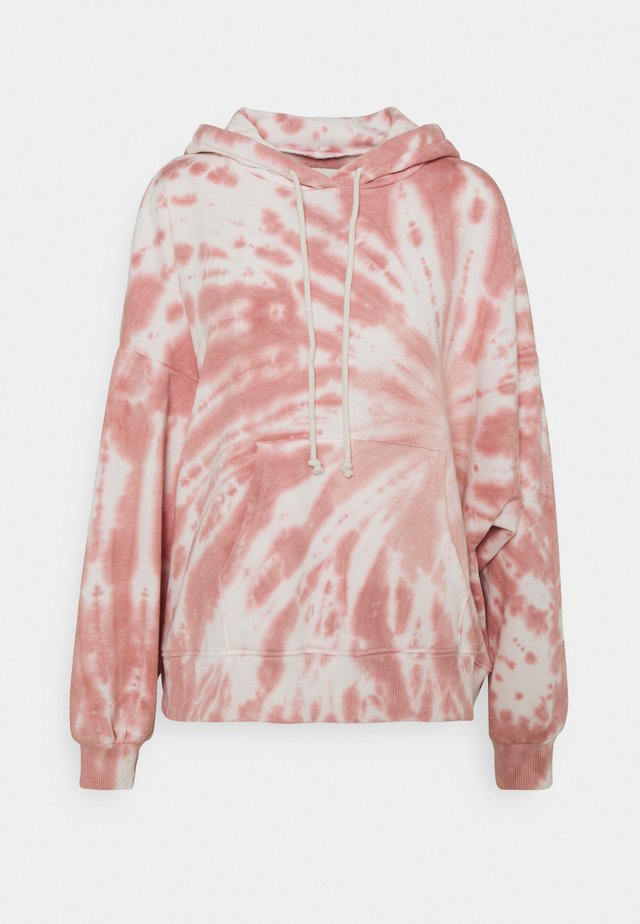 CLASSIC LOW HOODIE WASH - Mikina - light pink