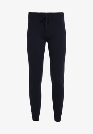 CASHMERE - Tracksuit bottoms - dark navy
