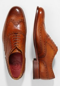 Grenson - DYLAN - Smart lace-ups - tan handpainted - 1
