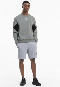 Puma - REBEL  - Sweatshirt - medium gray heather - 1