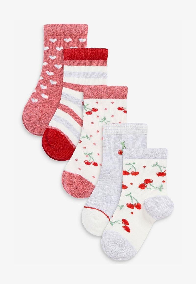 Next - 5 PACK  - Socks - red
