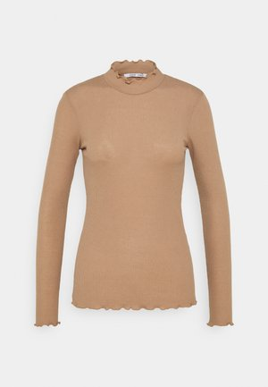 NELLI - Topper langermet - camel brown