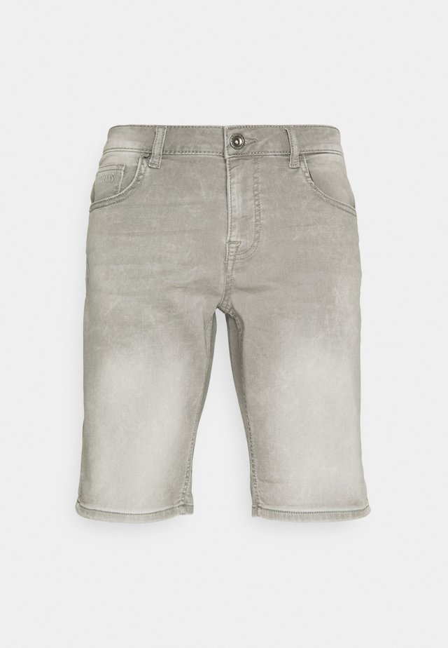 SEATLE - Denim shorts - grey used