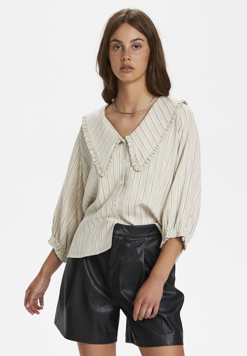 Soaked in Luxury - Button-down blouse - antique white