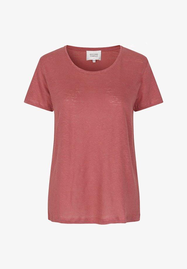 Basic T-shirt - roan rouge