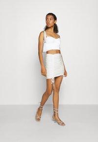 Tiger Mist - ZION SKIRT - Mini skirt - white - 1