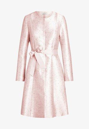 Classic coat - puder-schwarz