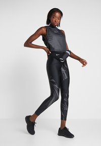 Nike Performance - SPEED - Tights - black/silver - 1