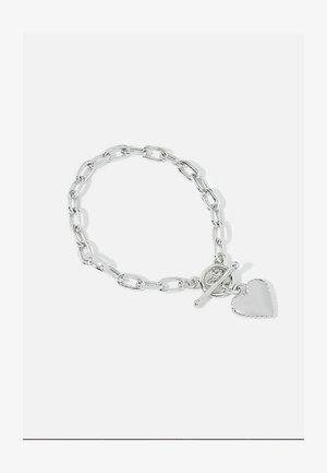 HEART CHUNKY - Armbånd - silver
