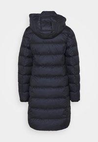 Marc O'Polo - COAT LONG FILLED HOOD FLAP POCKETS - Down coat - midnight blue - 2