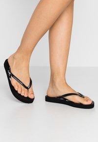 Calvin Klein Jeans - DORINDA - Badesko - black - 0