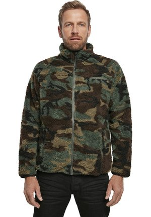 Fleece jacket - woodland