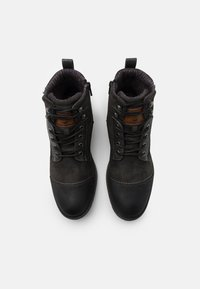 Mustang - Lace-up ankle boots - black - 3